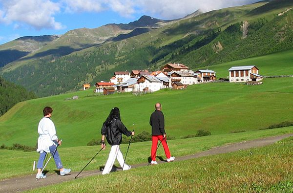 Nordic Walking a Resia